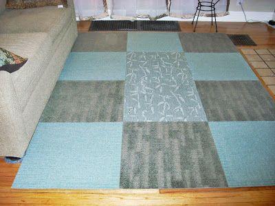 For My Habitat And Yours Carpet Tiles Diy Diy Carpet Area Rugs Diy