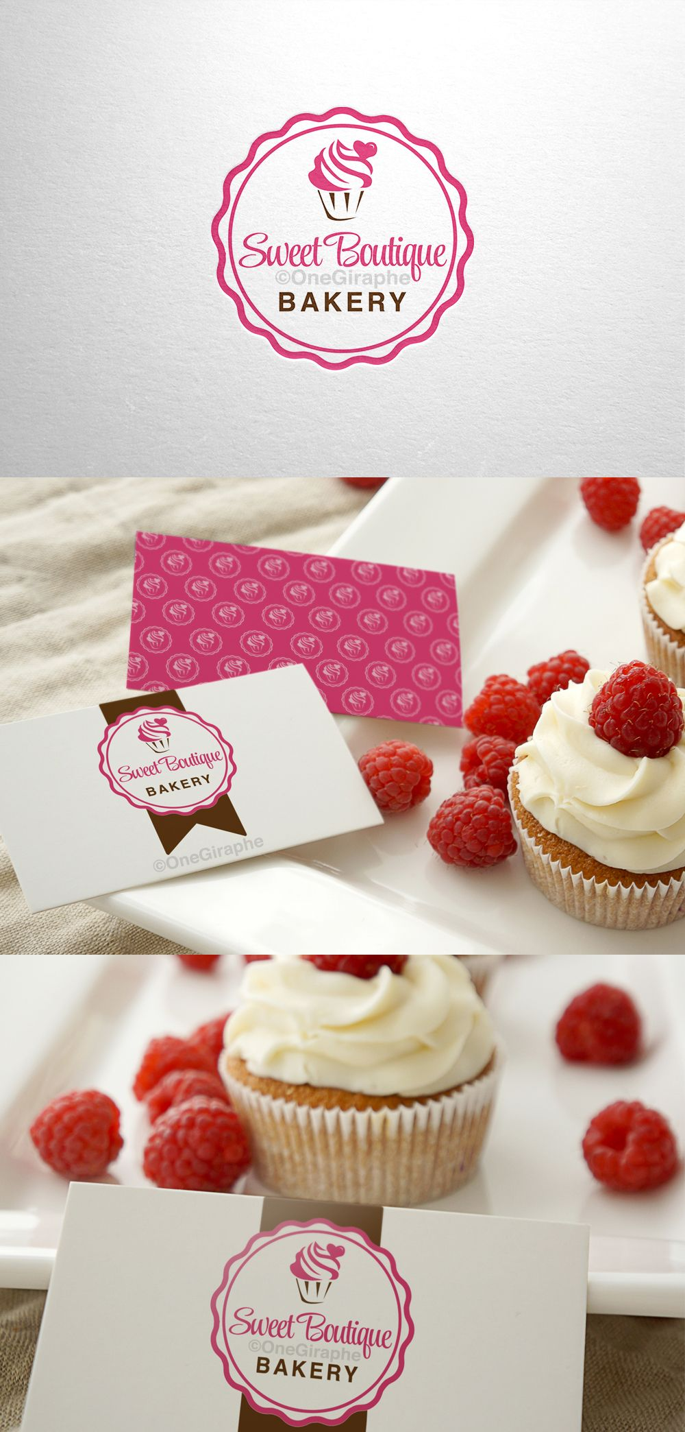 Logo for sale! Find out more : http://one-giraphe.com/prev.php?c=109 #design #logostore #logodesign #cake #cupcake #bakery #graphicdesign #inspiration #creative #logo