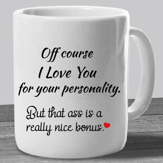 I LIKE YOU Funny Anniversary Gifts For Her Men Girlfriend Boyfriend Rude Love