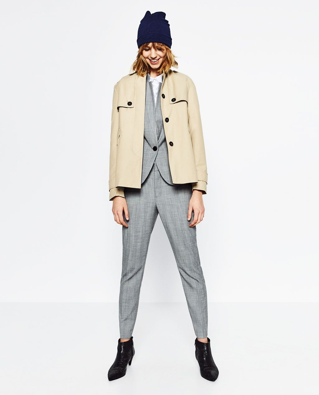 acf1359e SHORT WATER REPELLENT TRENCH COAT - Available in more colours   Fash ...