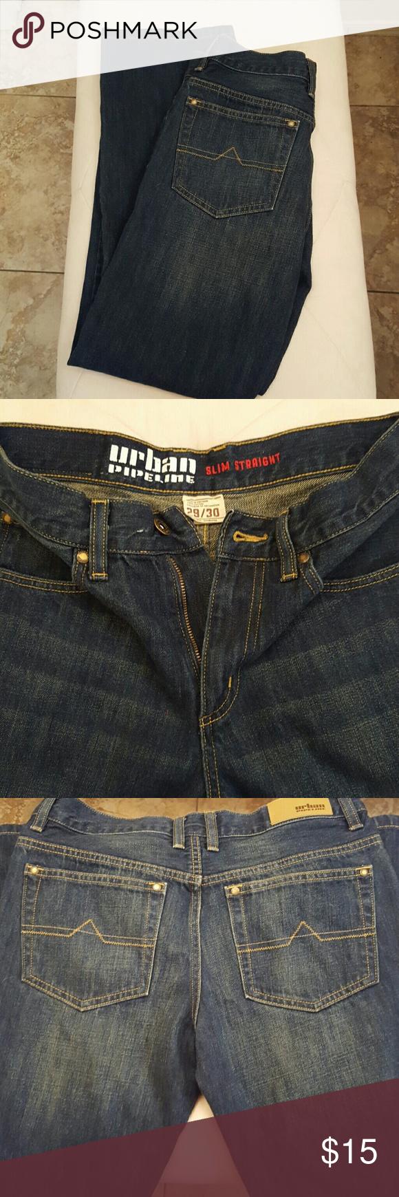 Teen/mens straight leg jeans NWOT   Piernas, Jeans y Oscuro