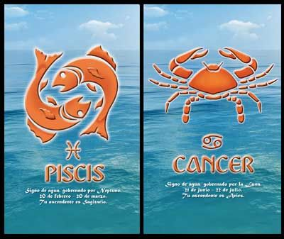 Pisces man cancer woman pros and cons