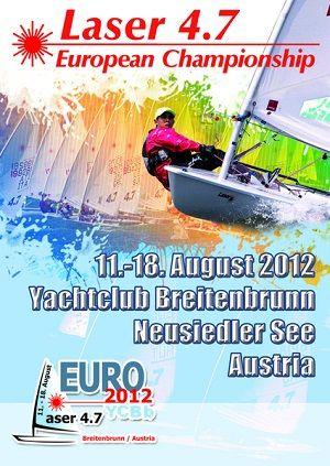 Austria. Campeonato de Europa 2012 de Láser 4.7