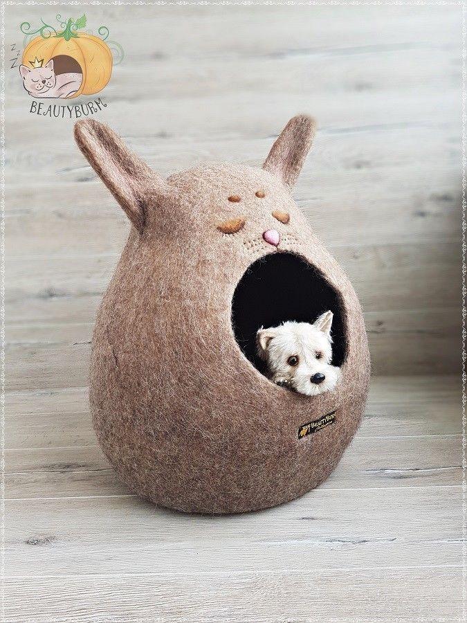 Felt House for cathome cathouse feltecohouse100 wool