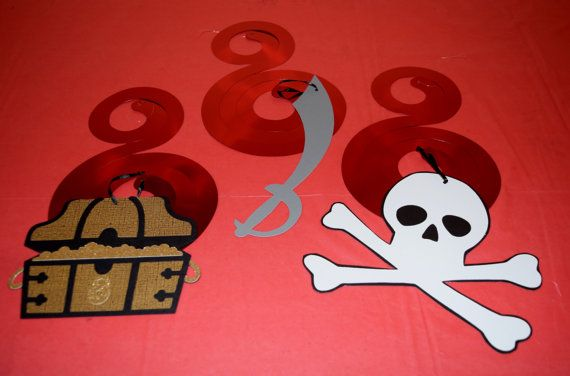 Hey, I found this really awesome Etsy listing at https://www.etsy.com/listing/246646589/3-piece-pirate-spiral-decorations-pirate