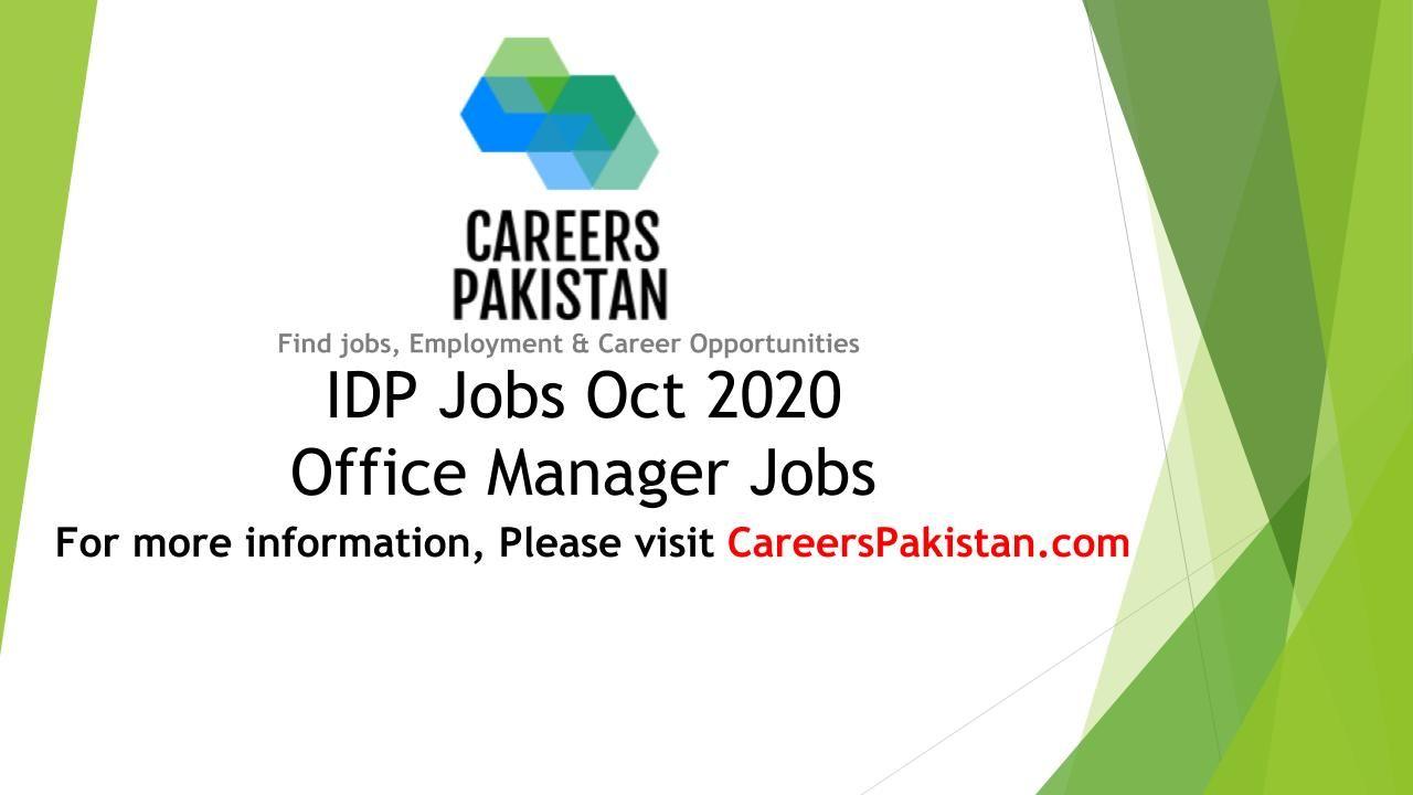 IDP.com Careers 2020 | Office Manager Jobs @ IDP Oct 2020