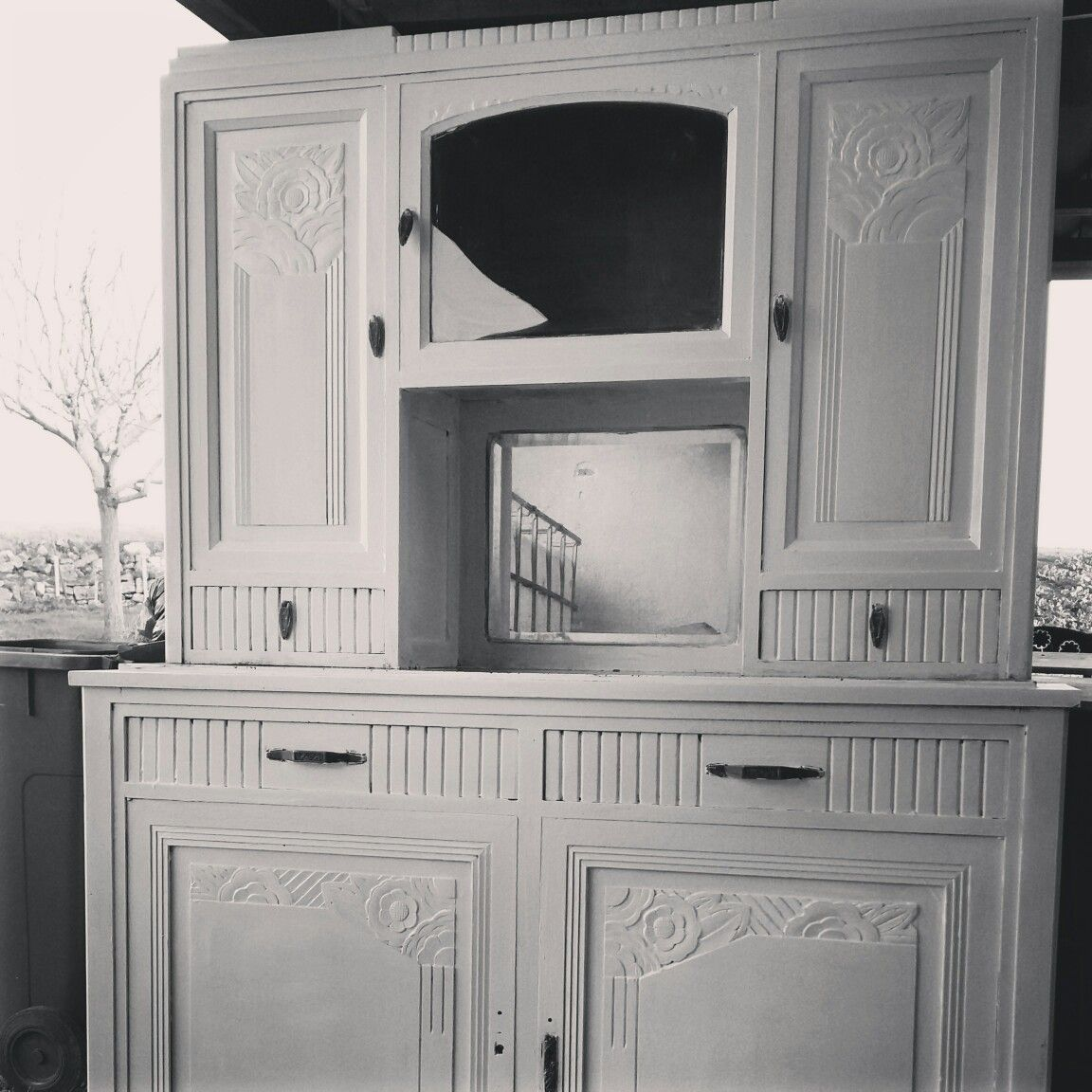buffet des ann es 30 relook brikbroc marennes pinterest marennes les ann es 30 et ann es 30. Black Bedroom Furniture Sets. Home Design Ideas