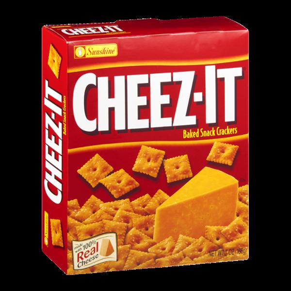 Cheez It Original Baked Snack Crackers Cracker Snacks Snacks No Bake Snacks