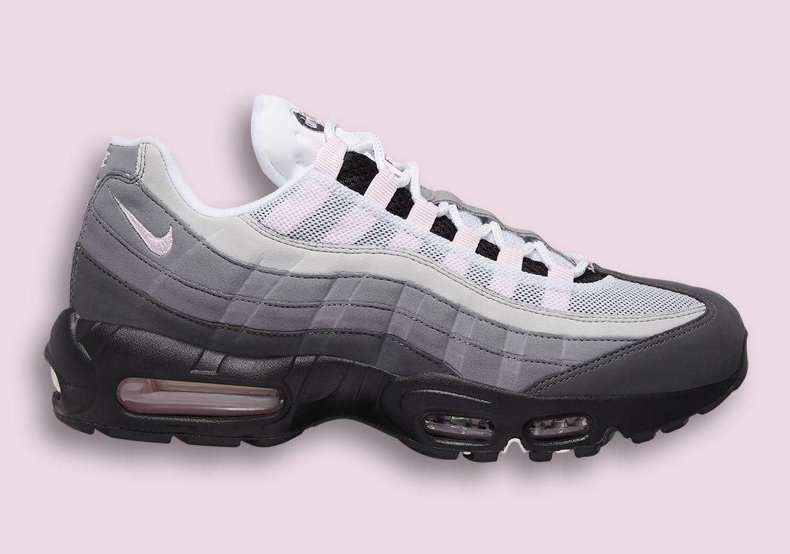 Nike Air Max 95 Grey Pink Cj0588 001 Release Info Air Max 95