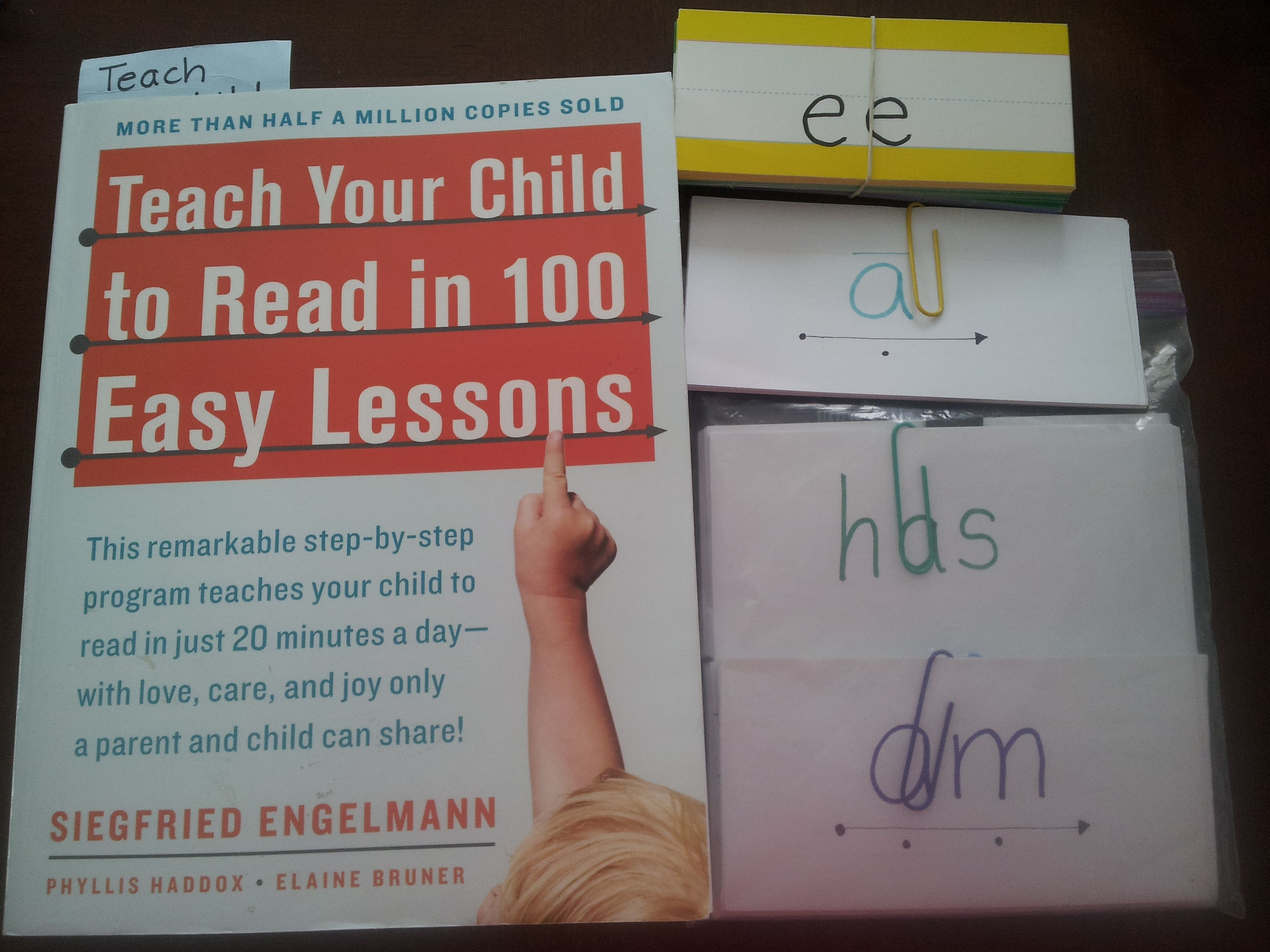Teach Your Child To Read In 100 Easy Lessons By Siegrfried