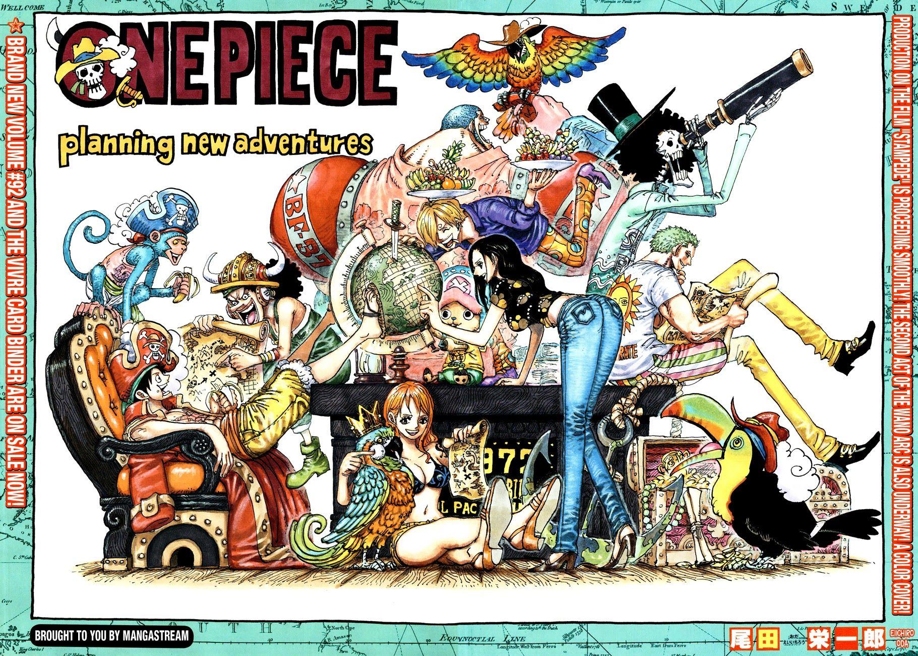 read manga one piece 937 gyukimaru of bandit bridge online in high quality yoooo it s the wano arc mah dudes ワンピース 扉絵 尾田栄一郎 ルフィ ナミ