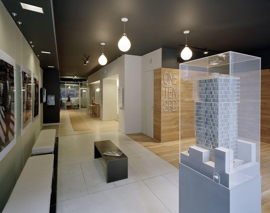 One Ten Third Avenue Sales Office Interior Design Greenbergfarrow Office Interior Design Office Interiors Sales Office