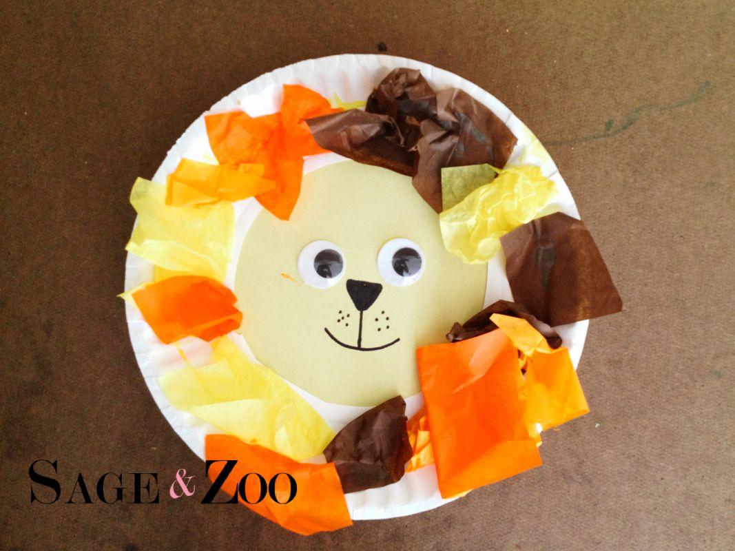 Lion Craft For Toddlers Lion Craft Toddler Crafts Safari Crafts