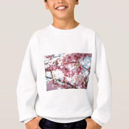 Cherry Blossom Tree Sweatshirt Diy Cyo Personalize Design Idea New Special Custom Sweatshirts Tiger Sweatshirt Sweatshirts Hoodie