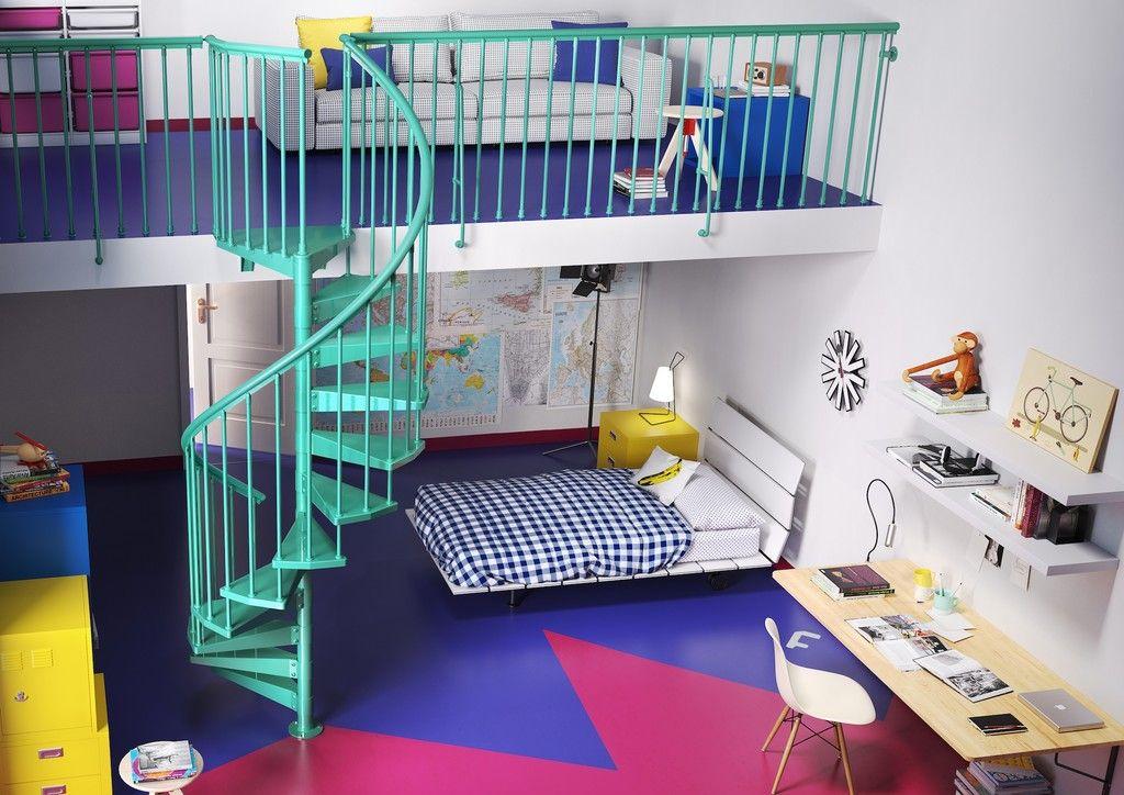 Originales habitaciones juveniles que tienen entre sus for Habitaciones juveniles originales