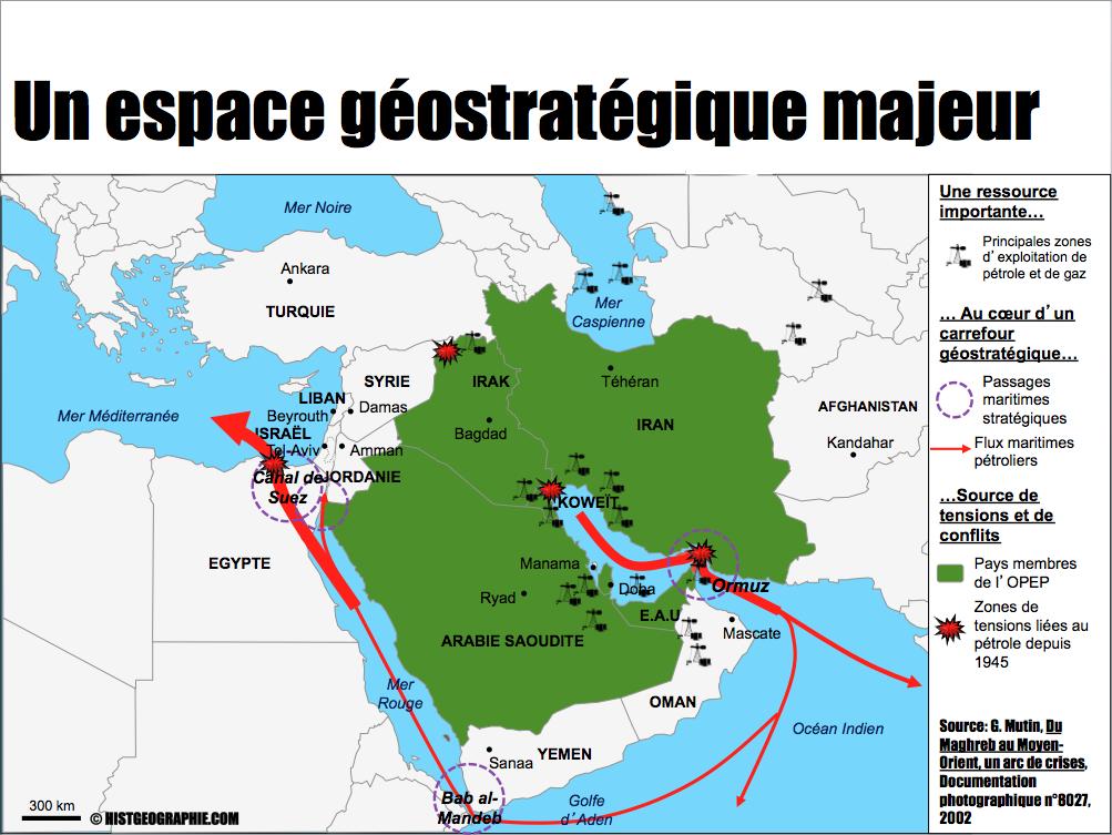Le Moyen Orient Un Espace Geostrategique Majeur Source C Histgeographie Com D Apres G Mutin Du Maghreb Au Moyen Orient Un Arc De Crises D Facts Info Map
