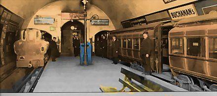 Euston (City & South London Railway platforms) | Railway, Railway station, South  london