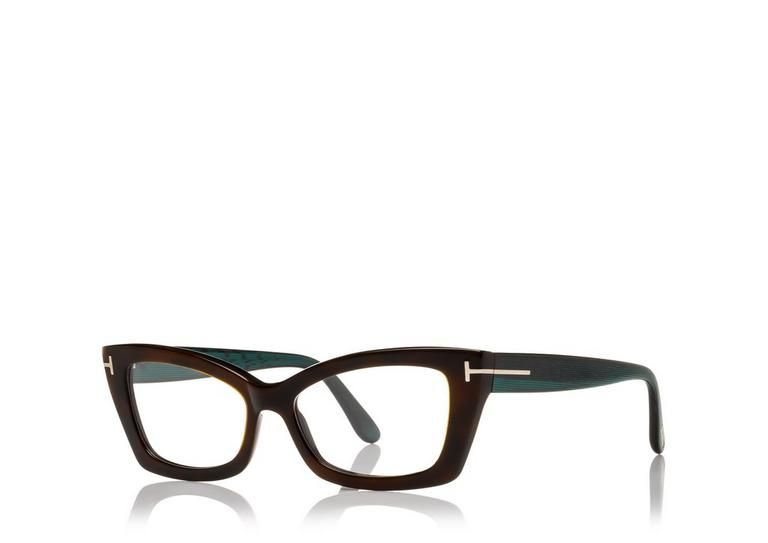 e7887a00089a Acetate soft squared butterfly shape with metal
