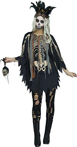 Fun Costumes Womens Voodoo Witch Wig Standard