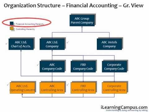 Chapter 1  SAP ERP - Organization Structure - Overviewwmv www - company organization chart