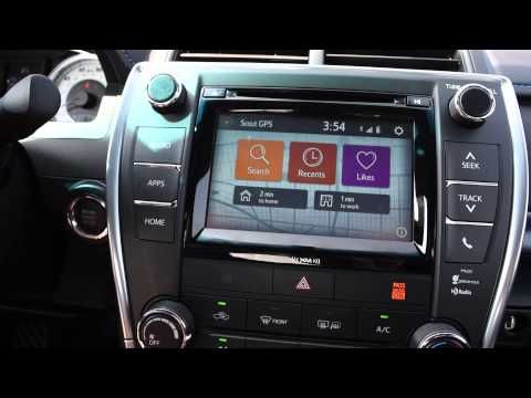The Scout GPS Link app pairs perfectly with new Toyotas