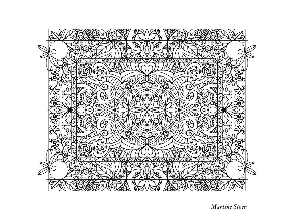 Kleurplaat Coloring Kleuren Creator Martine Stoer Kleurplaten Kleuren Patronen