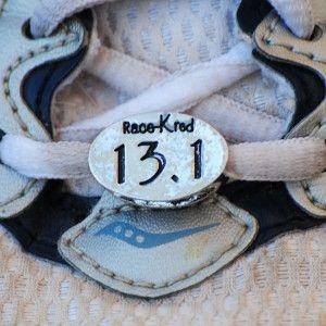 Drum Half Marathon 13.1 Run Charm Bead