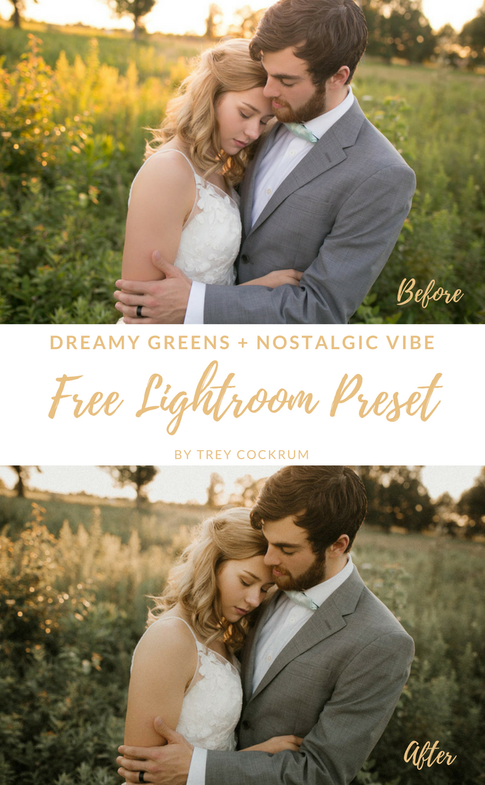 Free Dreamy Green Lightroom Preset by Trey Cockrum | Flourish | Free