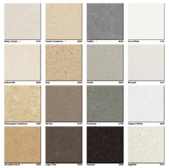 Kitchen Countertops Quartz Colors: Caesarstone Quartz Color Samples