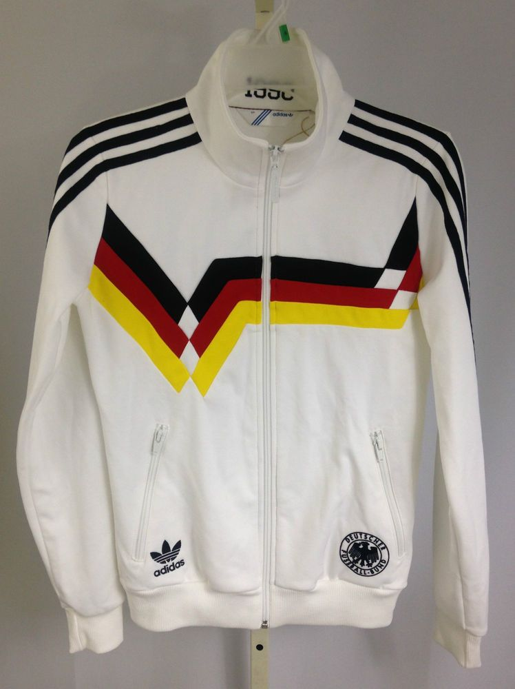 Adidas West Germany 1990 World Cup Soccer Jacket White