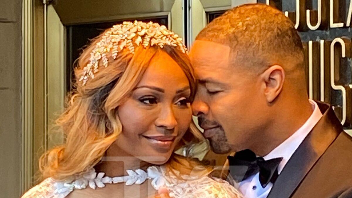 'RHOA's' Cynthia Bailey Poses in Wedding Dress Ahead of