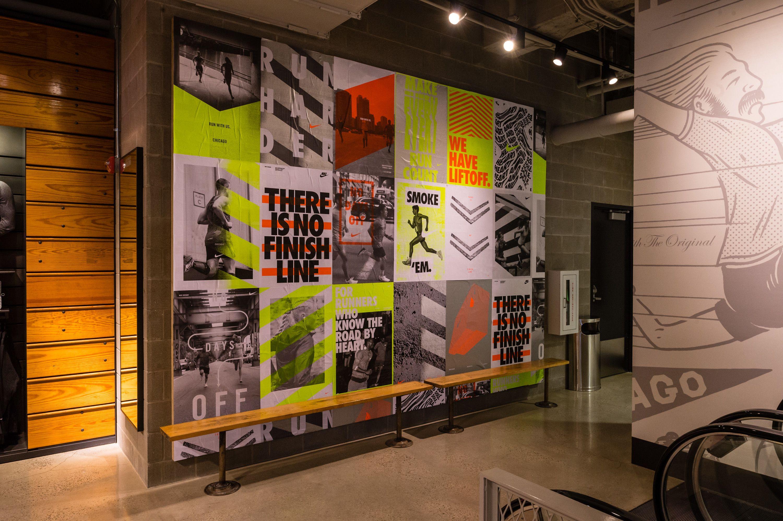 Nike Chicago Retail Design Jessica Davis Store Design