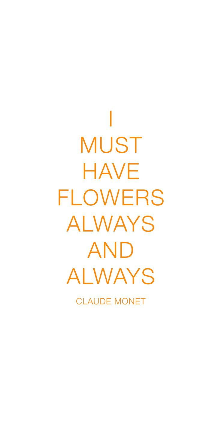 I Must Have Flowers Always And Always Claude Monet Style