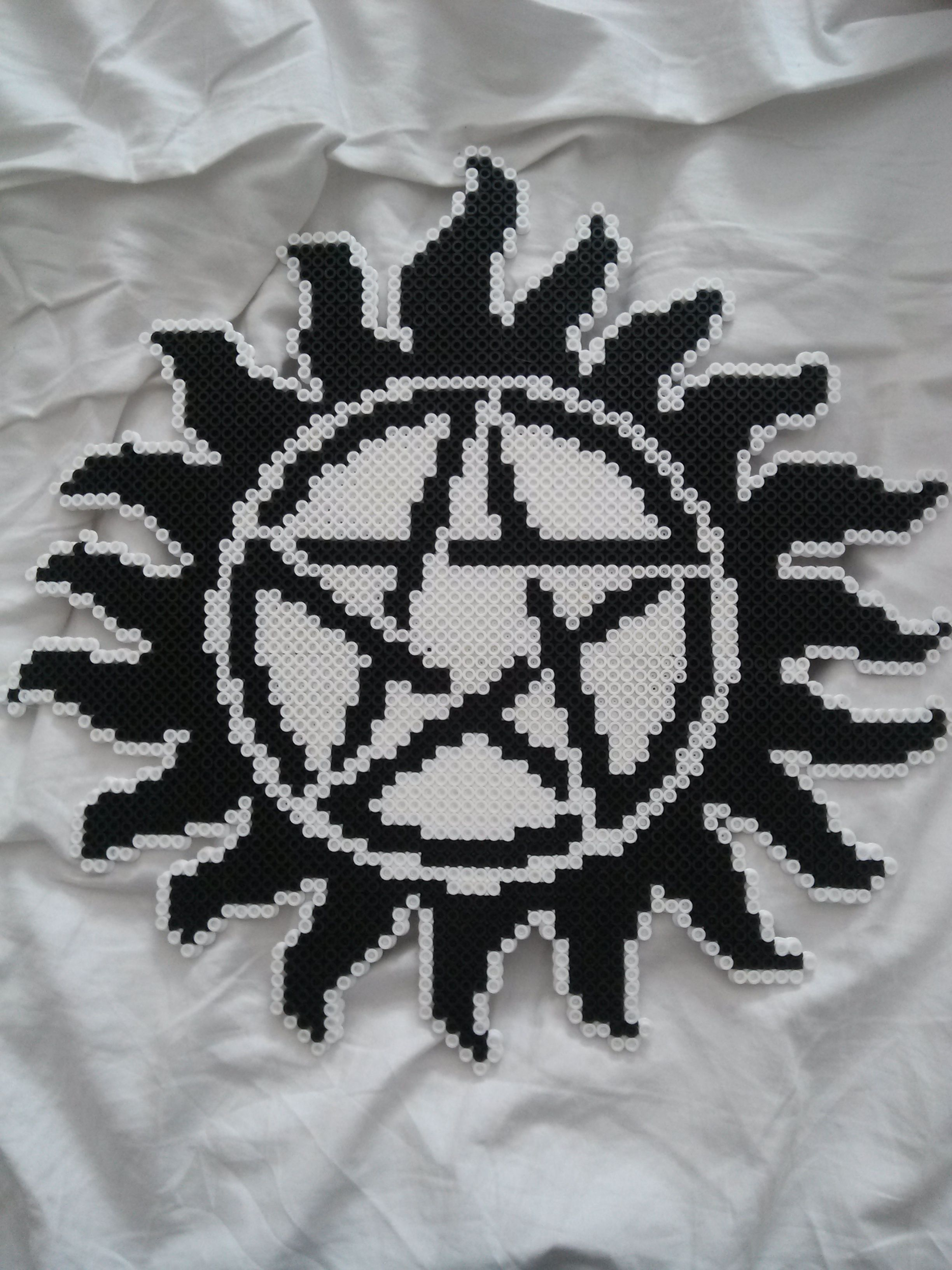 Supernatural Pentagram To Hang On The Wall Completed