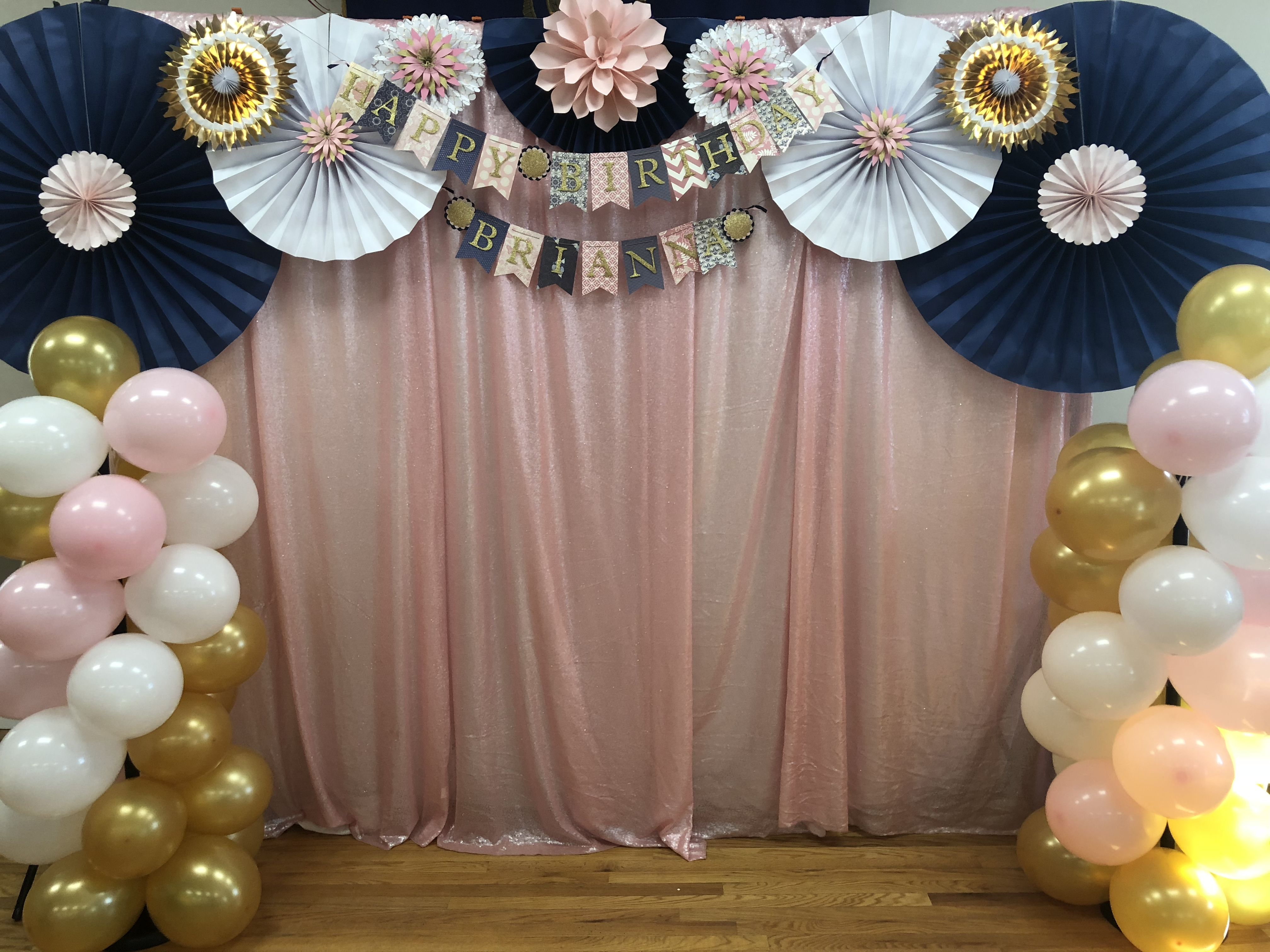 Furuix Navy Gold Bridal Shower Decorations Bride to Be Banner Wedding Decorations Bachelorette Party Decorations