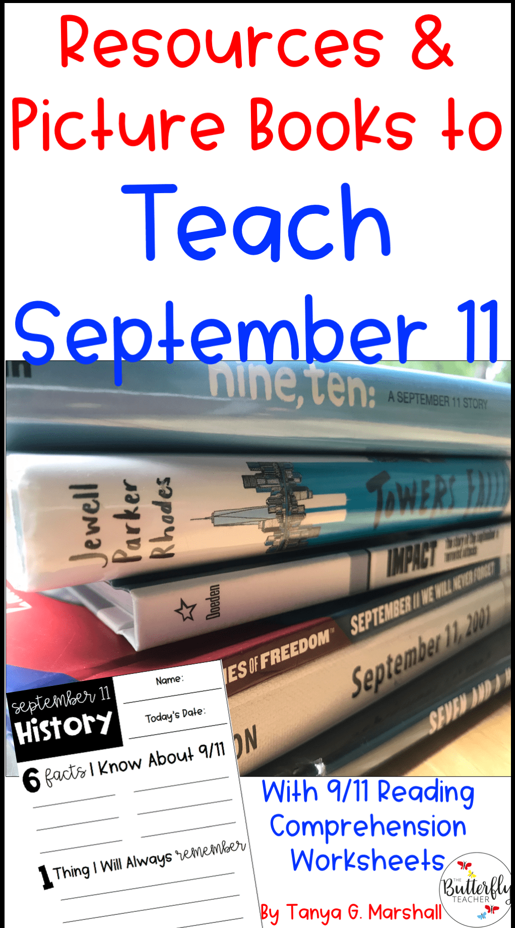 Resources And Picture Books For Teaching 9 11 Teaching Reading