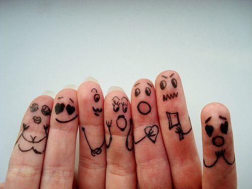 Finger Love Faces Posted