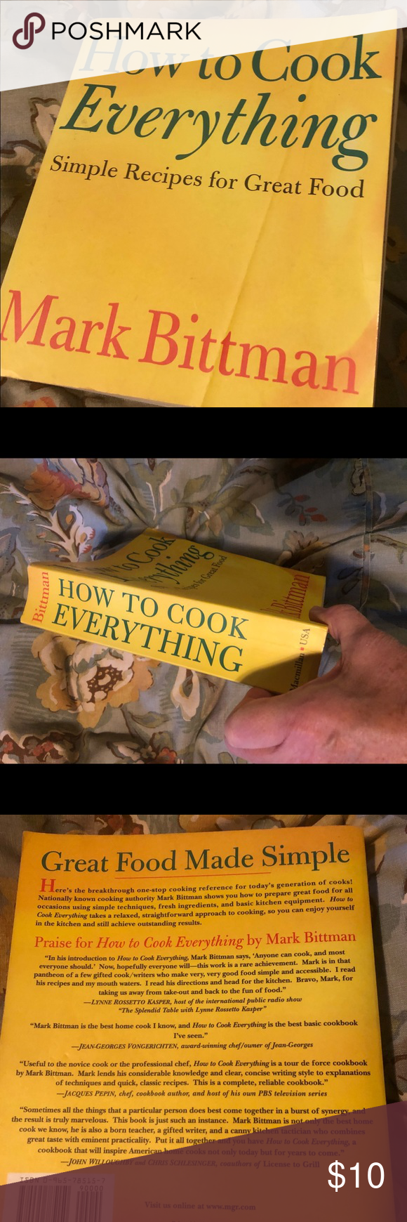 Cookbook Bittman HOW TO COOK EVERYTHING Simple recipes for great food by Mark Bittman   All offers considered use the offer button Other #markbittmanrecipes