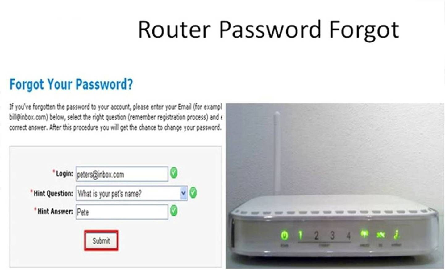 Steps To Change And Reset The Password Of Netgear Router