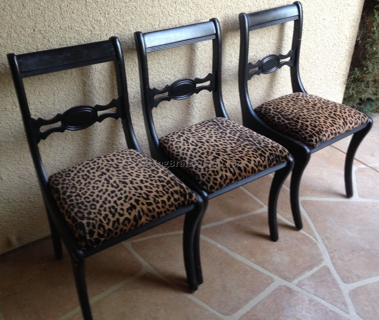 15 Example Of Animal Print Dining Chairs That Comfort Zebra