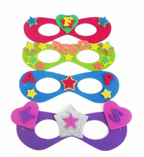 Superhero Masks To Decorate Superhero Mask Decorating Kit With 16 Foam Masks Fun Activity For