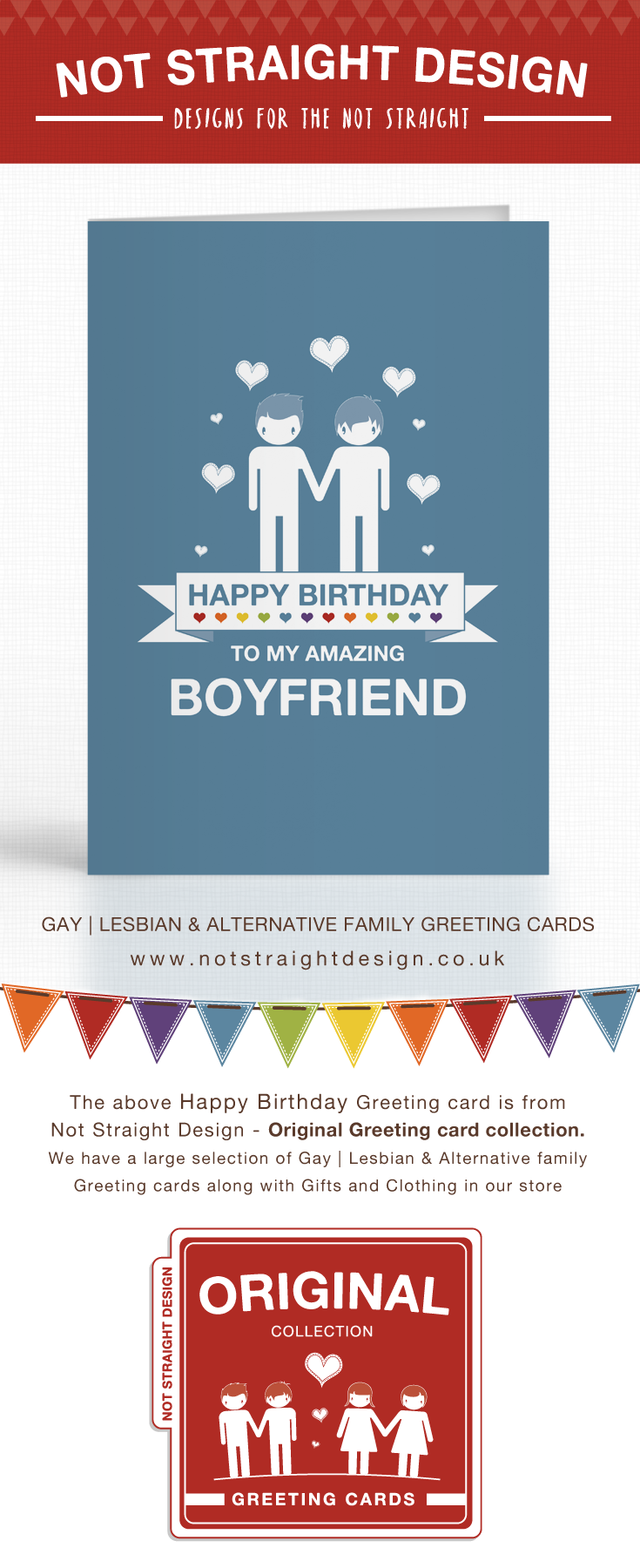 Blue amazing boyfriend happy birthday card happy birthday and blue amazing boyfriend happy birthday card kristyandbryce Choice Image