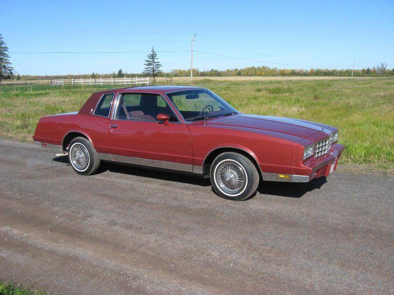 1984 Chevrolet Monte Carlo Cl Chevrolet Monte Carlo Monte Carlo