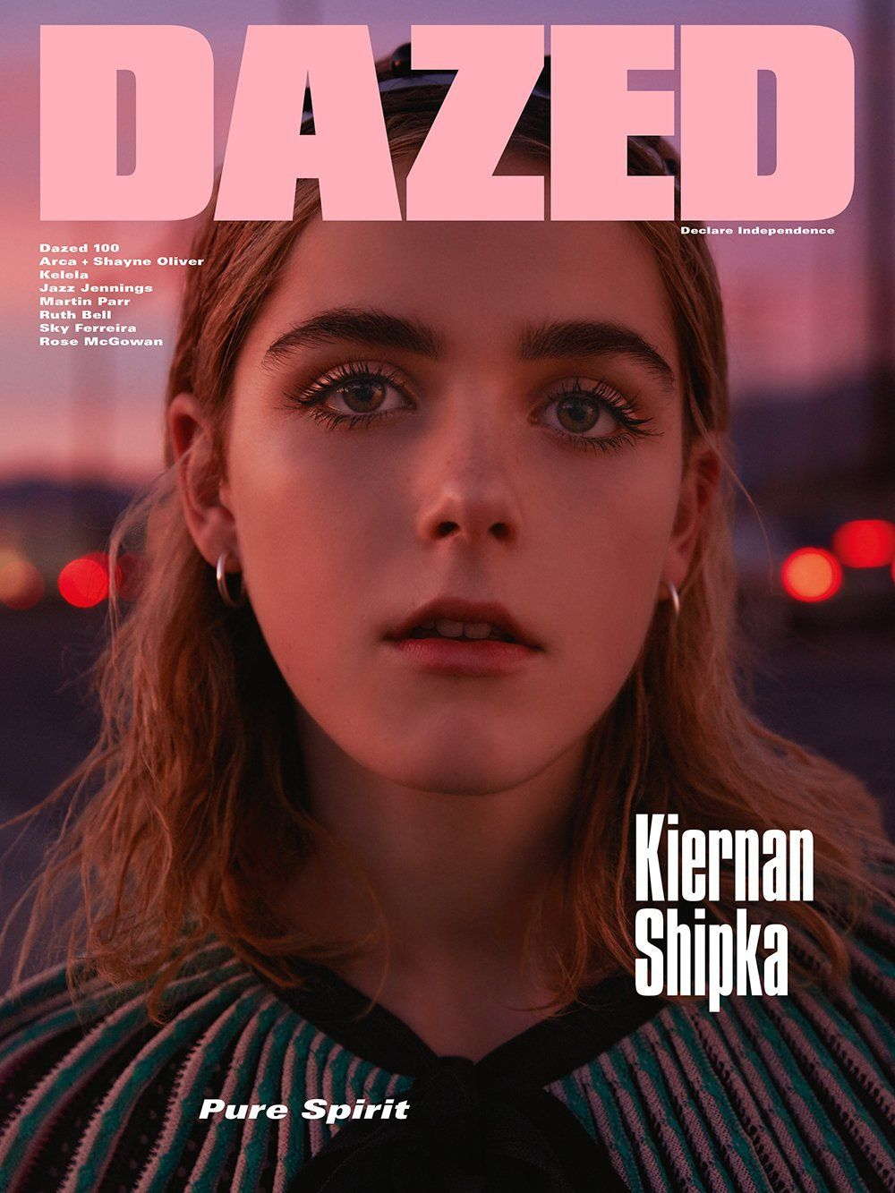 kiernan shipka for dazed magazine spring 2016