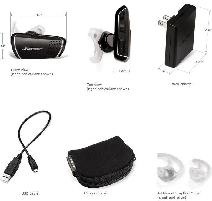 Bose Bluetooth headset Series 2 dimensions | wish list | Pinterest ...