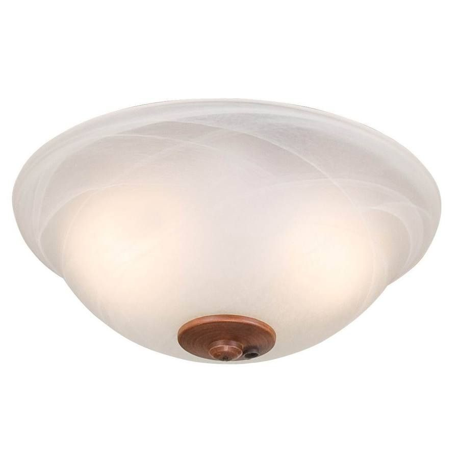 Harbor Breeze 2 Light Swirled Marble Incandescent Ceiling Fan Kit With Alabaster Shade At Lowes I Have A Nice Tuscan Style Overhead In