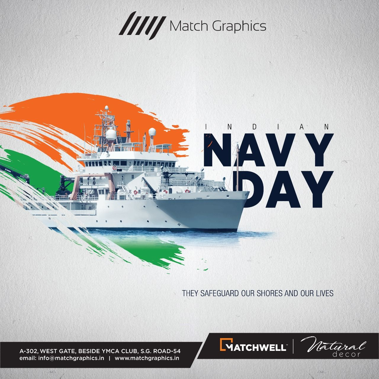 They Safeguard Our Shores And Our Lives Navy Day Of India Matchgraphics Matchwell Naturaldecor Navy Day Indian Navy Day Social Media Design Inspiration