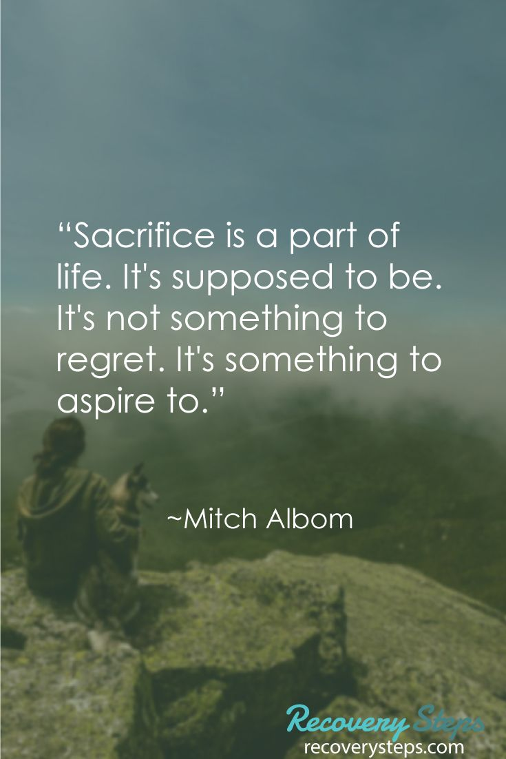 "Life Sacrifice Quotes Inspirational Quotes""Sacrifice Is A Part Of Lifeit's Supposed"