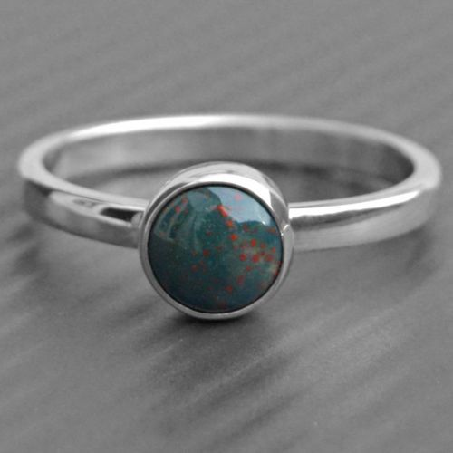 Bloodstone Ring In 2019 I Need This Silver Ring