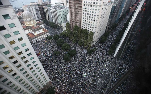Brazil Protests By Semilla Luz Via Flickr Our News Pinterest